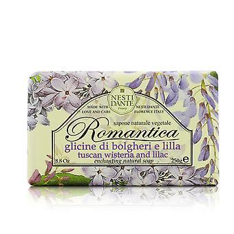 Romantica encantador sabonete natural wisteria e lilás 208658 250g/8.8oz