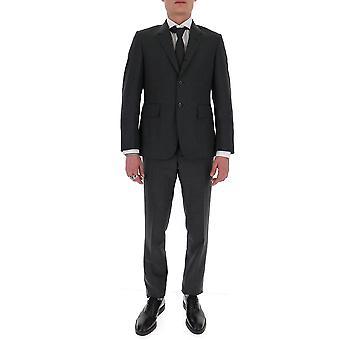 Thom Browne Msc200a00626025 Men's Grey Wool Suit