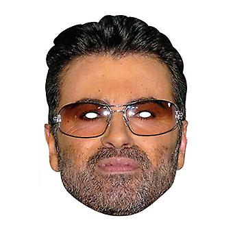 George Michael Celebrity Single Card Party Fancy Dress Mask