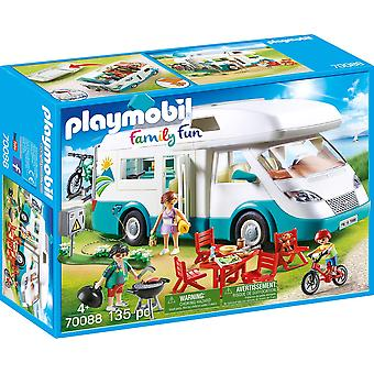 Playmobil 70088 Family Fun Caravan Camper 135PC Playset