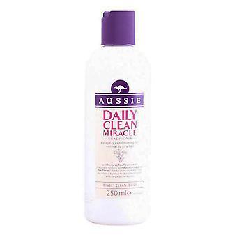 Condicionador de cabelos finos diariamente Clean Miracle Aussie (250 ml)