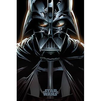 Star Wars Darth Vader Comic Maxi Juliste