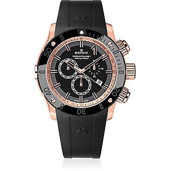 Edox - Relógio de Pulso - Homens - CO-1 - Cronógrafo - 10221 37R NIR