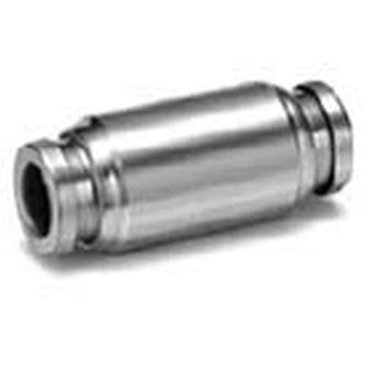Smc Kqb2H10-00 Metal One-Touch Fitting Straight Union