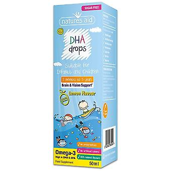 Nature's Aid DHA Mini Drops for infants & children 50ml (138510)