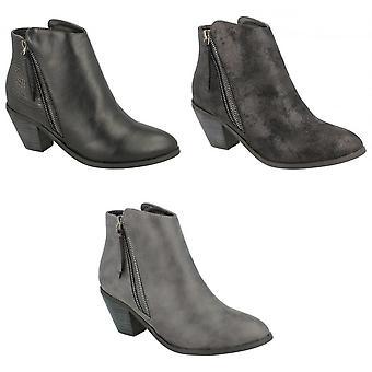 بقعة على المرأة/السيدات الكعب الرمز البريدي حتى أحذية الكاحل