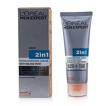 Men expert face creme 2 in 1 after shave + face care 233049 75ml/2.5oz