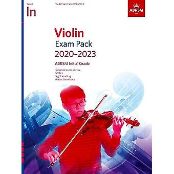 Violin Exam Pack 2020-2023 - Initial Grade - Score & Part - with a