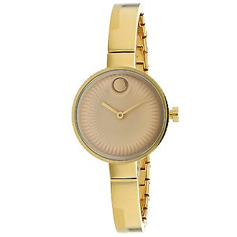 Movado Women's Gold Dial Watch - 3680021