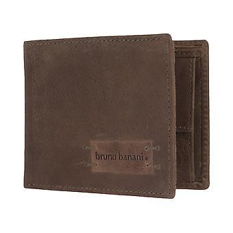 Bruno banani mens wallet portemonnee tas bruin/Cognac 2750