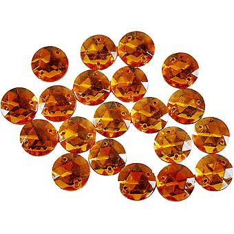 Sew On Jewels Gold