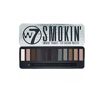 W7 Cosmetics Eye Colour Palette Smokin Shades Smokin 12 Color Eye Shadows