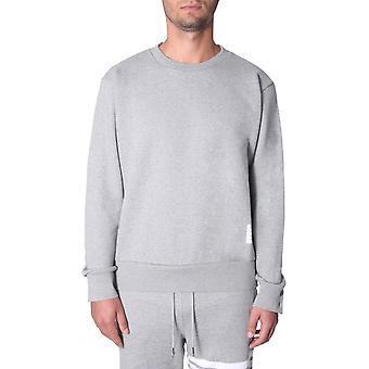 Thom Browne Mjt085a03377055 Men's Grey Cotton Sweatshirt