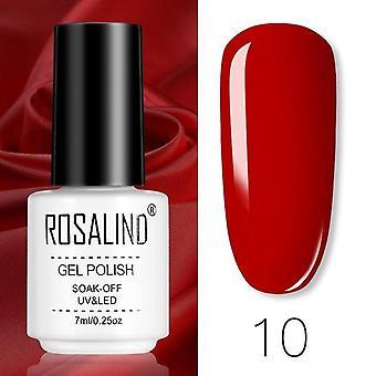 Gel Polish Set All For Manicure - Semi Permanent Varnish Top Coat - UV LED Gel Soak Off Nail Art
