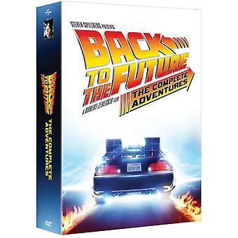Tilbake til fremtiden: The komplett eventyr [DVD] USA import