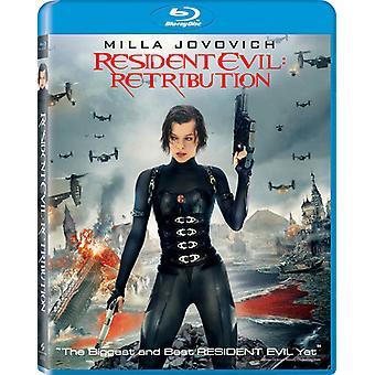 Resident Evil: Retribution [BLU-RAY] USA import