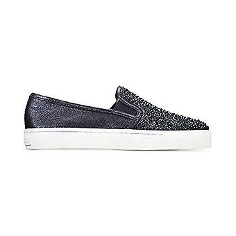 INC International Concepts Womens Sammee2 Fabric Low Top Pull On Fashion Snea...