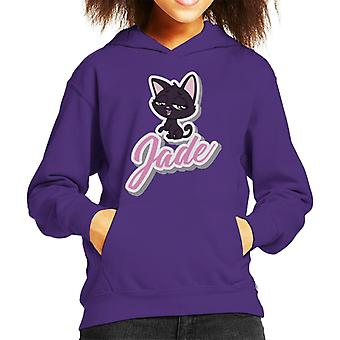 Littlest Pet Shop Jade Smile Kid's Hooded Sweatshirt