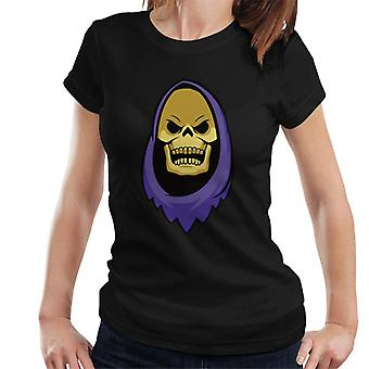 Masters Of The Universe Skeletor Head Women's T-Shirt