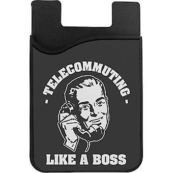 Etätyö Kuin Boss PuhelinKortin haltija