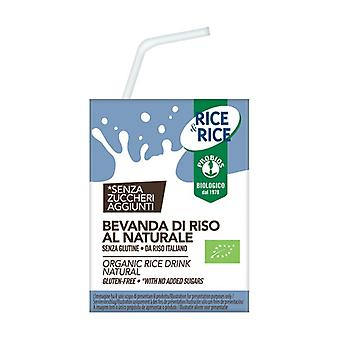Natural rice drink - with straw 200 ml