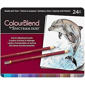 Spectrum Noir Spectrum Colourblend Pencils Shade and Tone (24pc) (SPECCB-SHA24)
