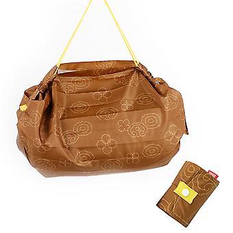 Grand sac d'achat portable imperméable à l'eau, sac de rangement réutilisable de protection de l'environnement