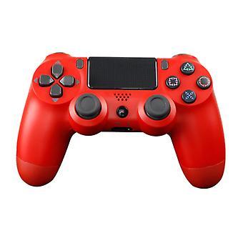 Stuff Certified® PlayStation 4 için Oyun Kumandası - Titreşim Kırmızısı ile PS4 Bluetooth Gamepad