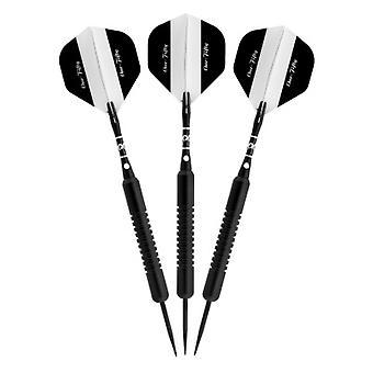 22-0128-22, Elkadart Nero 150 Jet Black Steel Tip Freccette 22 Grammi