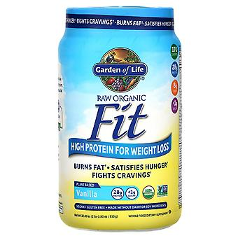 Garden of Life, RAW Organic Fit, High Protein for Weight Loss, Vanilla, 32.80 oz