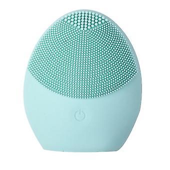 Elektrický obličejový čistící kartáč - vodotěsný krása měkké hloubkové čištění obličeje