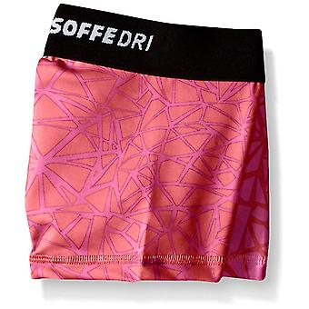 Soffe Girls' Big Dri Short, Strawberry Popped Bubblegum, Small