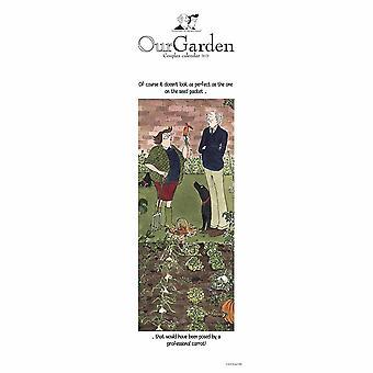 Otter House 2021 Slim Calendar-our Garden