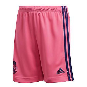 2020-2021 Real Madrid Adidas Away Pantaloni scurți (Roz) - Copii