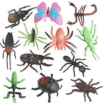 Insecte realiste Animale Figurine Jucării, Jucării de învățare educațională & Ziua de naștere