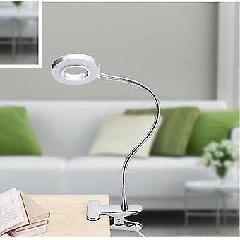 LED Ljus Bärbar Permanent Manikyr Usb Clip Bordslampa För NagelMakeup