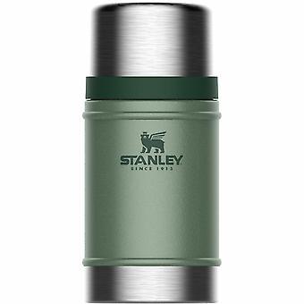 Stanley Classic tyhjiö ruokapurkki 0.70L Hammertone Vihreä