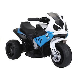Motorrad BMW S1000RR Blaues Dreirad
