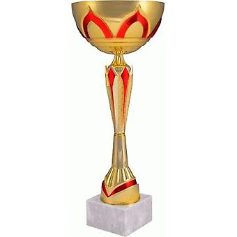 Metal Cup Oro-Rojo 7136C
