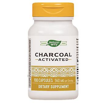 Nature's Way Activated Charcoal, 100 Caps