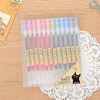 0.5mm Gel-pen, Color Ink-pen Maker For School, Office, Student Exam Writing