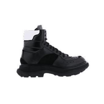 Alexander McQueen H.Boot Tread.Le.S.Ru Ri.C Negru 627221WHRH61071 pantof