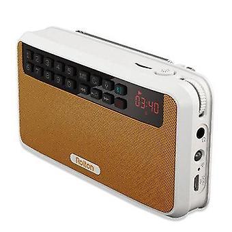 Rolton E500 Bærbar trådløs bluetooth højttaler 1500mAh FM-radio TF-kort