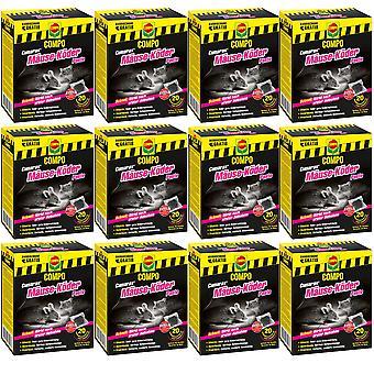 Sparset: 12 x COMPO Cumarax® mice bait paste, 200 g