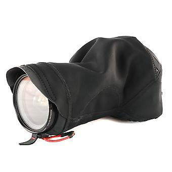 Peak design black shell medium form-fitting rain and dust cover