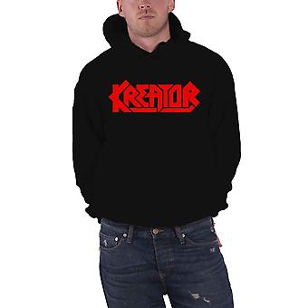 Kreator Hoodie Band Logo new Official Mens Black Pullover