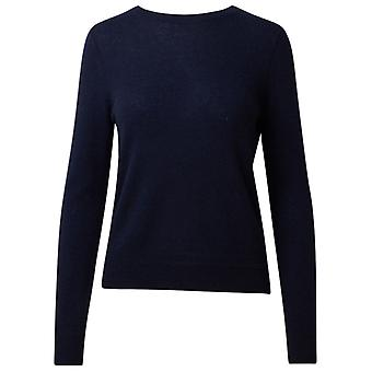 360 Cashmere 42253nvy Women's Blue Cashmere Sweater