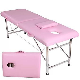 Professional Carry On Massage Beauty Bed, Folding Thickening Treatment Table
