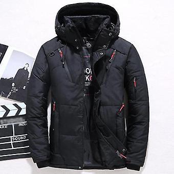 جديد سترة الشتاء الرجال عارضة بطة أسفل المعاطف الدافئة المغطاة الرياح Outwear