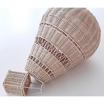 håndlaget rom dekorasjon nordisk stil barnehage rattan veve varm luft